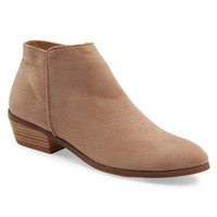 Aeropostale  Faux Suede Ankle Bootie