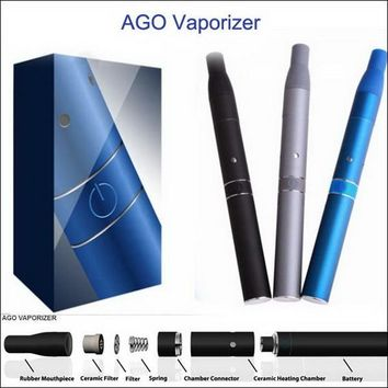 Ago G5 Mini Vape Vaporizer G Pen Wax and Dry Herb Herbal Vaporizer Kits Pen Herbal Ecig Dry Herb vaporiser