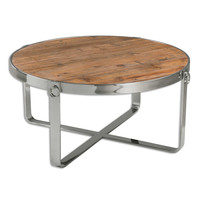 Berdine Wooden Coffee Table