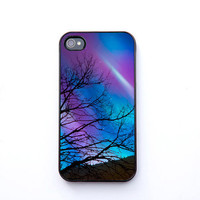 iPhone Case stars aurora borealis zodiac astrology by bomobob