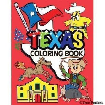 Texas Products Texas Coloring Book