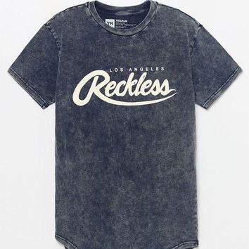 VONE05W Young and Reckless Big Drip Washed T-Shirt