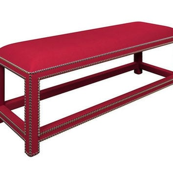 Lexington Bench | Estate Linen Red