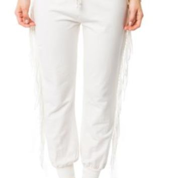 Asher Pant- White | Amuse Society