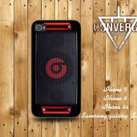 iPhone4/4S 5,Samsung Galaxy S2/S3 case- beats Dr.re Beatbox black