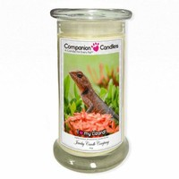 I Love My Lizard! - Pet Photo Companion Candles - Pet Lover Gifts