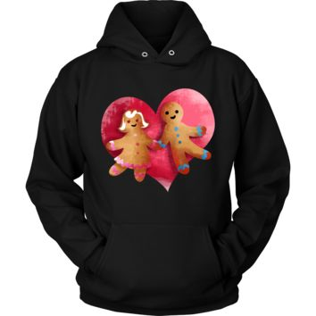 Gingerbread Couple Christmas Costume Hoodie Xmas Gift