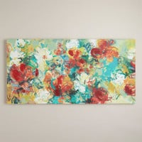 """Abstract Garden"" by Elinor Luna - World Market"