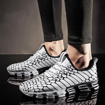Joomra New arrival Men's Runing Shoes Non-slip Lace-up Outdoor Sport Shoes New Design sole Trainer Workout Sneakers for man