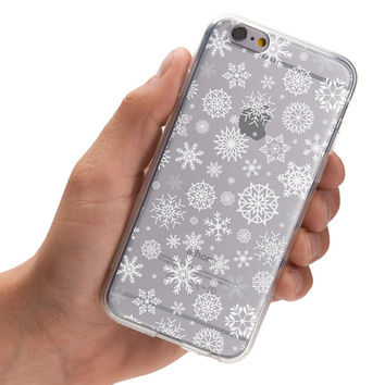 Snow pattern - Holiday season theme - Winter - Super Slim - Printed Case for iPhone - S059