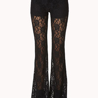 Bombshell Lace Bell Bottoms
