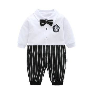 Newborn Baby Boy Girls Clothes Spring Long Sleeve Cartoon Rompers 0-1y Baby Cotton Climbing Animal Costumes Jumpsuit