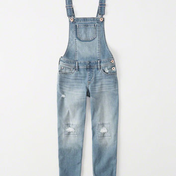 girls ripped overalls | girls bottoms | Abercrombie.com
