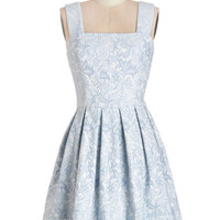 ModCloth Vintage Inspired Mid-length Sleeveless A-line Young at Sweetheart Dress