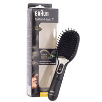 1 PC Braun Satin-Hair 7 Brush with IONTEC Shine Hair Haircare Beauty Tools
