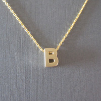 """""""Initial Thoughts"""" Necklace"""