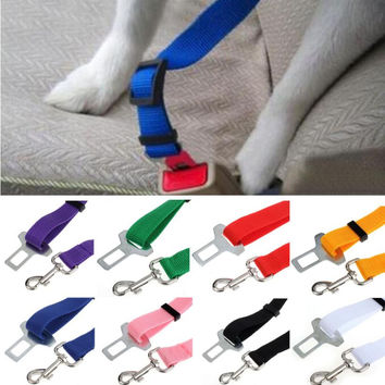 Pet Vehicle Safety Seat Belt Harness Lead Clip