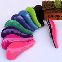 New Hair Brush Comb Magic Detangling Handle Tangle  Shower Salon Styling Tamer Tool escova de cabelo pinceis brosse cheveux