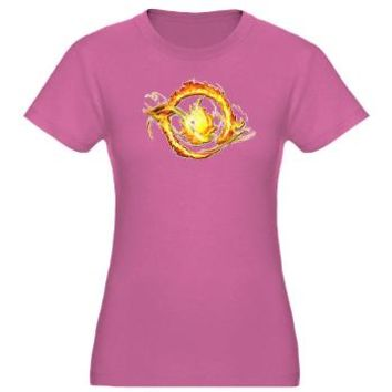 Divergent Fire - Divergent Movie T-Shirt> Entertainment> Girl Tease