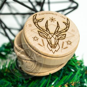 Holiday 2018 - Engraved Plug Box