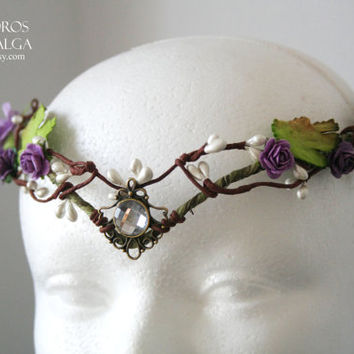fairy crown - elven forest tiara