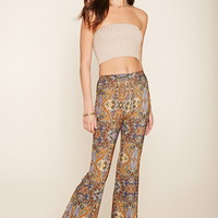 Paisley Flared Pants