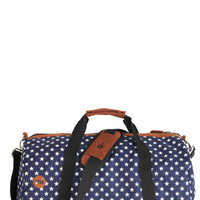 ModCloth Travel Traveling Near and Star Weekend Bag
