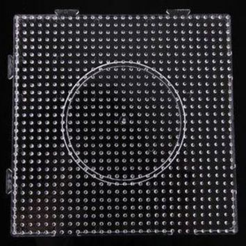 Perler Beads template Clear Linkable Large Pegboard 5mm 15*15cm of square  5mm hama beads Pegboard PUPUKOU
