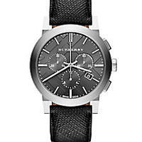 Burberry - Stainless Steel Chronograph Watch - Saks Fifth Avenue Mobile