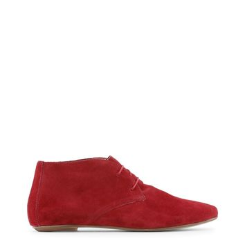 Arnaldo Toscani Red Lace Up Leather Shoes