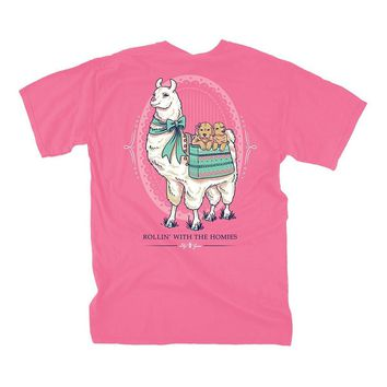 Llama Puppies Tee by Lily Grace