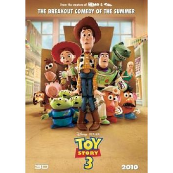 Toy Story 3 Movie poster Metal Sign Wall Art 8in x 12in