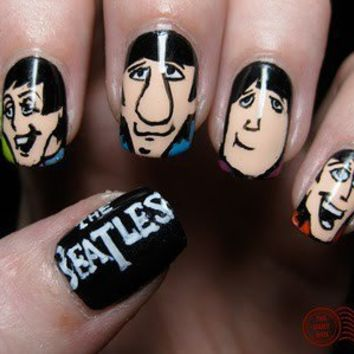 The Neat and The Random / The Daily Nail: Meet The Beatles!