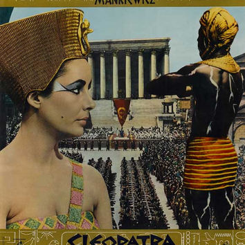 Cleopatra (Italian) 11x17 Movie Poster (1963)
