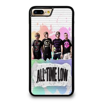 ALL TIME LOW PERSONIL BAND iPhone 4/4S 5/5S/SE 5C 6/6S 7 8 Plus X Case