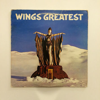 Paul McCartney / Wings - Wings Greatest  vinyl record album LP