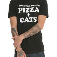 Pizza + Cats T-Shirt