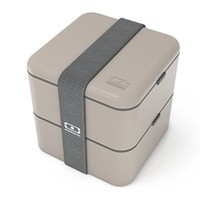 monbento MB Square Bento Box, Grey