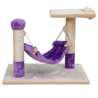 2016 New Arrival Cat Furniture Scratching Post Cat Jumping Climbing Tree Kitten Playing Training Swing Pet Bed Sofa High Quality