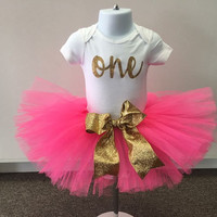 Birthday shirt and tutu SET done for any age