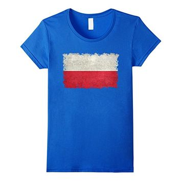 Vintage Flag Of Poland T-Shirt