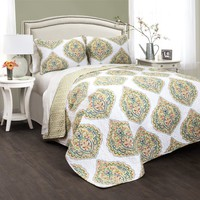 Jolie 3 PC Quilt Bedding Boho Bed Collection