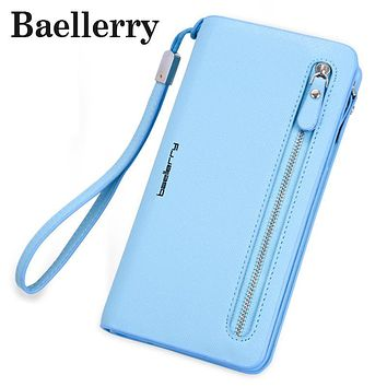 Baellerry women's wallet Famous Brand Designer Long Walet Women Wallets Female Bag Ladies Money Coin Women Purse Carteras WL473