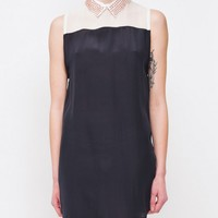maurie and eve Amethyst Shirt Dress