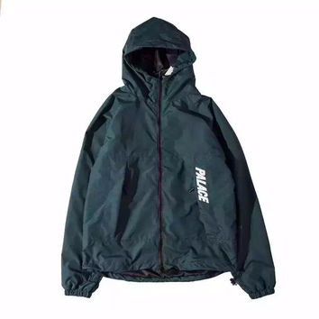 Palace Skateboards Windbreaker Green Jacket
