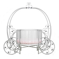 Regal Pumpkin Carriage Crib in Choice of Finish