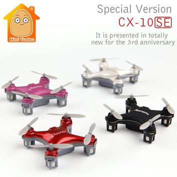 Mini Drone Cheerson CX-10 Upgrade Version CX-10SE Mini Drone 4CH RC Helicopter Remote Control Toys Quadcopter