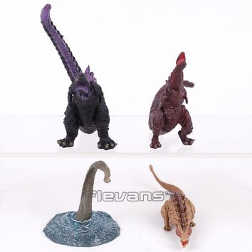 Godzilla Monsters Toys Action Figure Collectible Model Toy for Kids Boys 4pcs/set