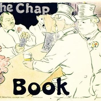 The Chap Book - Limited Edition Hand Pulled Lithograph on Paper by the RE Society
