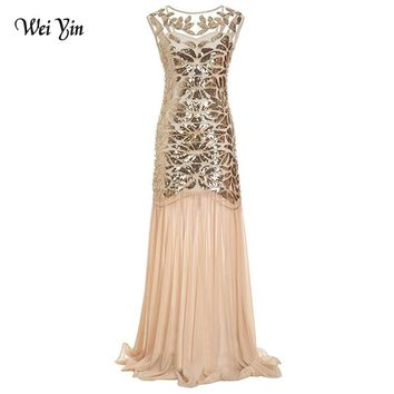 weiyin 2018 Luxury Mermaid Evening Dresses Backless Sleeveless Sexy Formal Crystal Beading Party Long Prom Dresses for Woman